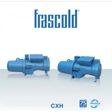 CXH-Semi-Hermetic compact screw compressors